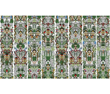 "NLXL-Studio Job Wallpaper ""l'Afrique 05"" paper, 900x48.7cm"