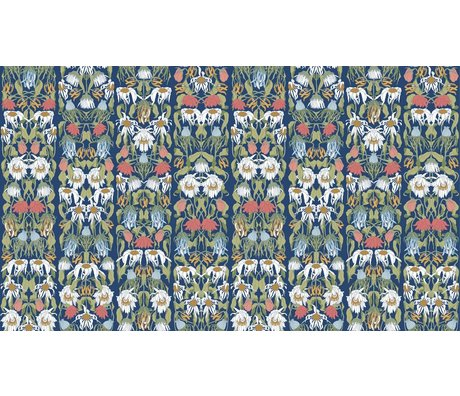 "NLXL-Studio Job Wallpaper ""Withered flowers color 07"" paper, 900x48.7cm"