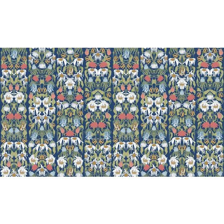 """NLXL-Studio Job Wallpaper """"couleur de fleurs fanées 07"""" papier, 900x48.7cm"""