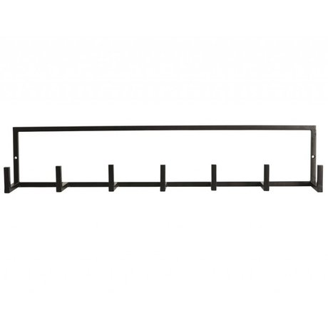 "Housedoctor Wardrobe ""rack"" of metal, black, 60x12cm"