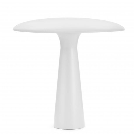 Normann Copenhagen Table lamp Shelter white steel Ø41x41cm