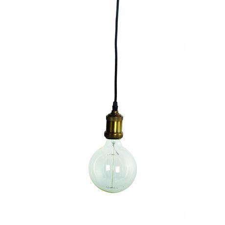 Housedoctor Vola lampada a sospensione, ottone / oro, Ø4,5x14cm