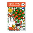 Kek Amsterdam Wall sticker Miffy apple colorful vinyl foil S 21x33cm