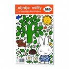 Kek Amsterdam Wall sticker Miffy large tree multicolour vinyl foil S 21x33cm