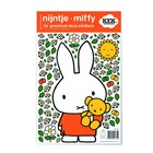 Kek Amsterdam Wall sticker Miffy Teddy colorful vinyl foil S 21x33cm