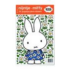 Kek Amsterdam Wall Sticker Miffy robe fleur multicouleur vinyle S 21x33cm