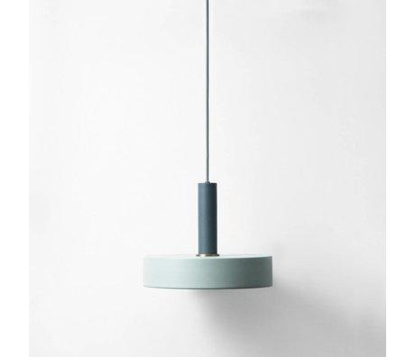 Ferm Living Hanglamp record blauw poussiéreux bleu foncé métallisé