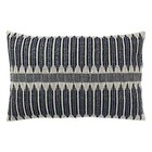 HK-living Aztec pillow black white cotton 40x60cm