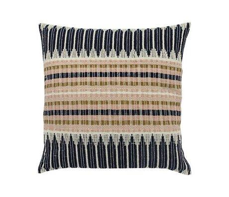 HK-living Aztec Cushion Multicolour cotton 43x43cm