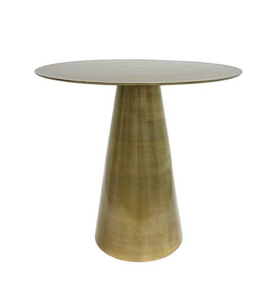 Tavolino In Ottone.Hk Living Tavolino In Ottone In Ottone 49x49x45cm