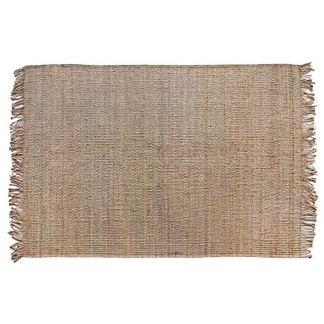 HK-living Carpet natural brown sack 200x300cm