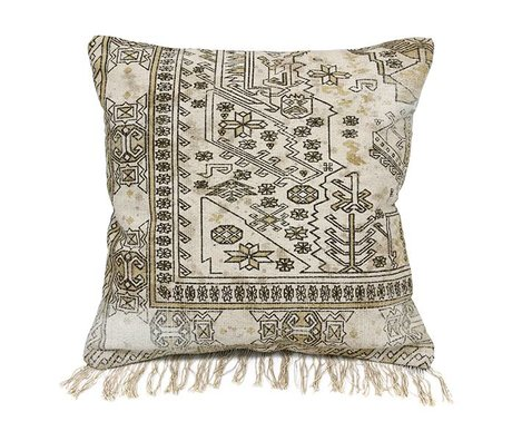 HK-living Cushion Multicolour extra-colored cotton 50x50cm