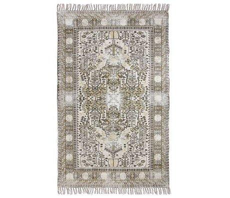 HK-living Tapis particulièrement Overdyed coton 120x180cm multicouleur