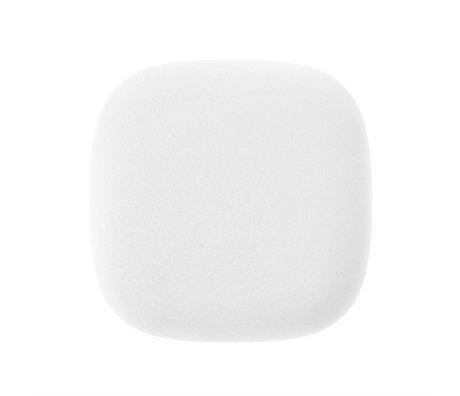 Jalo Detector de humo Kupu 10 11x11x3,9cm plástico blanco