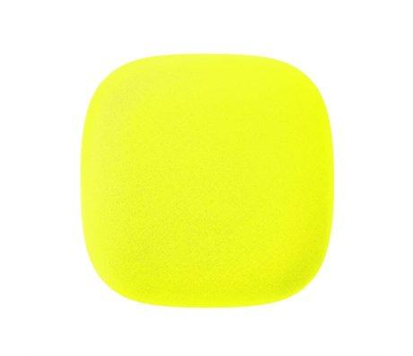 Jalo Les détecteurs de fumée 10 Kupu 11x11x3,9cm plastique jaune