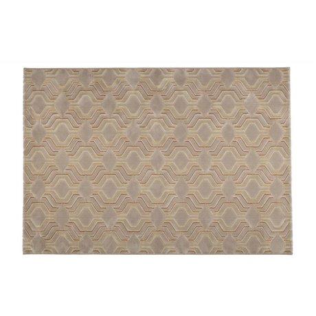 Zuiver grâce Tapis 230x160cm textile beige