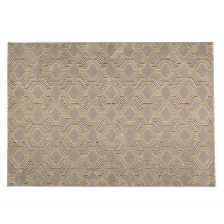 Zuiver Alfombra 290x200cm gracia textil de color beige