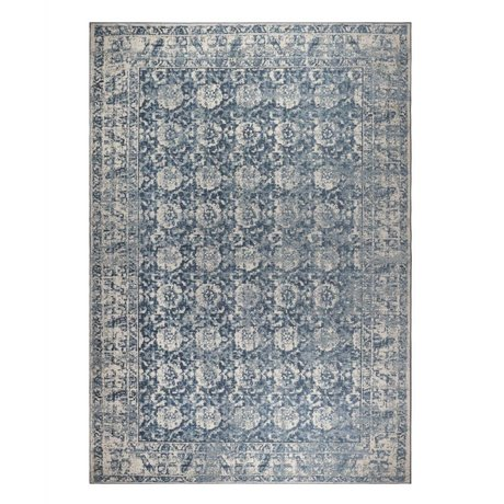 Zuiver Carpet Malva Denim blue cotton 300x200cm
