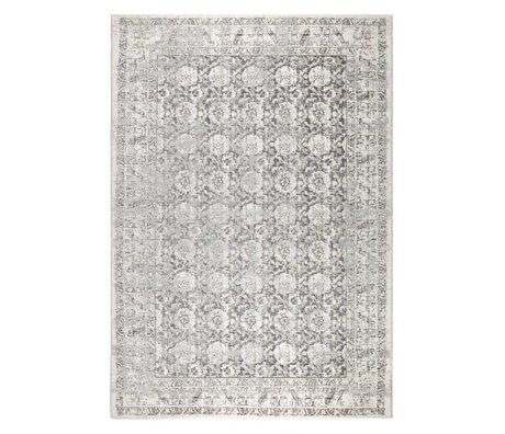 Zuiver Alfombra Malva grau 300x200cm algodón