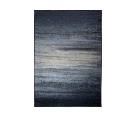Zuiver Obi blauen Teppich Textil 240x170cm