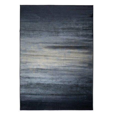 Zuiver 300x200cm textile tapis bleu Obi