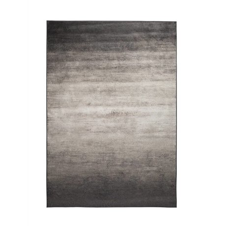 Zuiver Obi grå tæppe tekstil 240x170cm