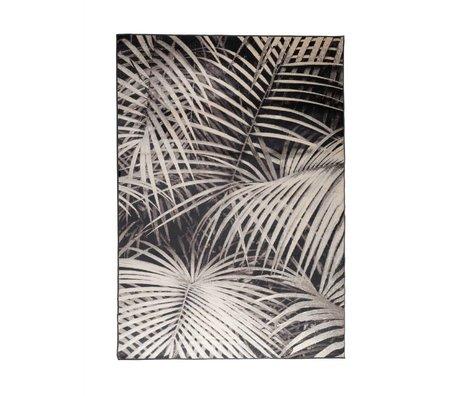Zuiver Tapis Palm nuit 240x170cm textile noir