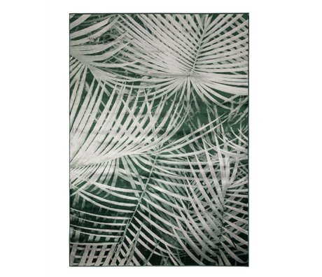 Zuiver Carpet Palm by day green textile 300x200cm