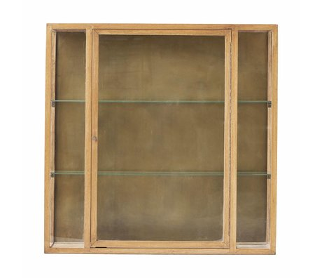 Housedoctor Gabinete 100x22x100cm roble marrón natural