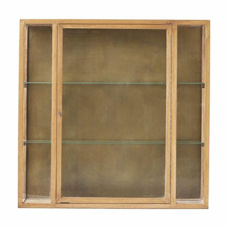 Housedoctor Cabinet brun naturel chêne 100x22x100cm