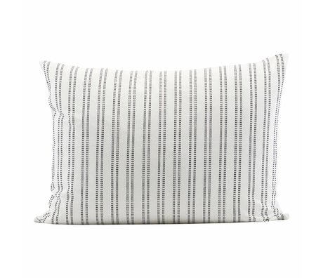 Housedoctor Kussenhoes additionel 50x30cm cotone bianco