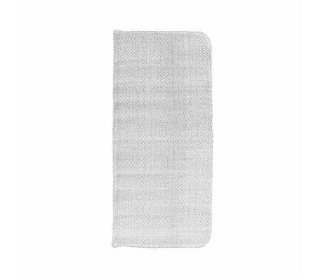 Housedoctor Coon cotone grigio cuscino 117x48cm