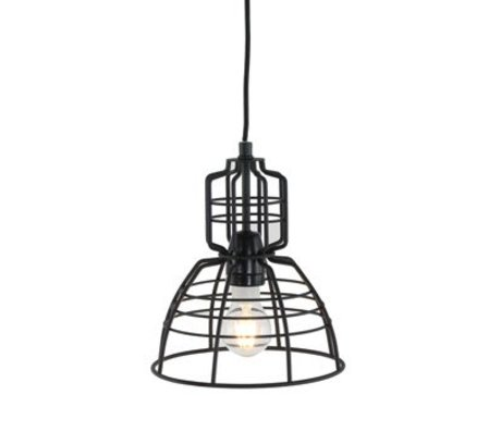 Anne Lighting Hanglamp Anne MarkllI Mini black metal ø20x24cm