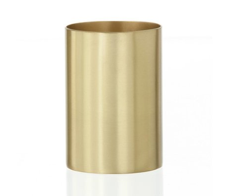 """Ferm Living Coupe / porte-stylo """"BRASS CUP"""" laiton Ø6x9cm"""