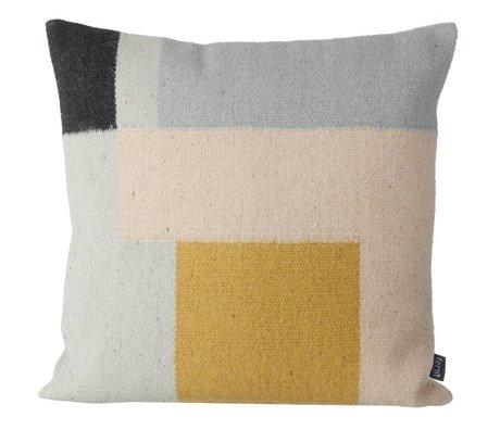 Ferm Living Kilim almohada cuadrados, 50x50cm
