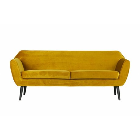 LEF collections Rocco sofa 187 cm with ocher