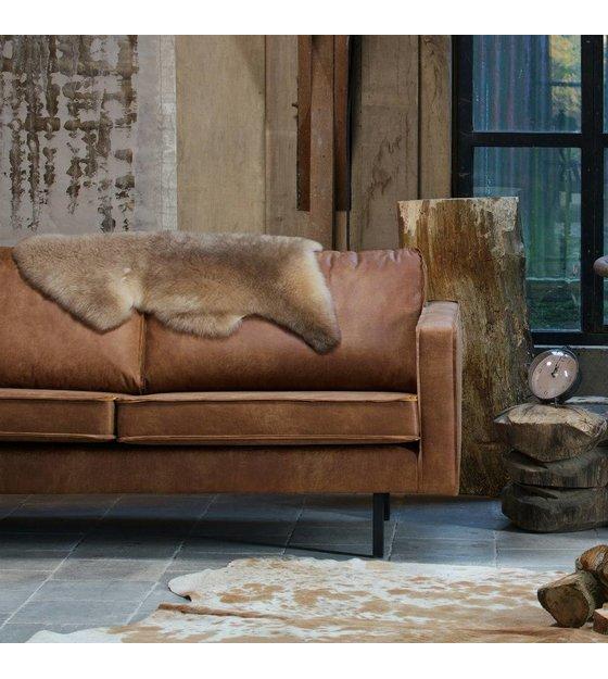 Sofa Rodeo 25 Sitz Cognac Braun Leder 190x86x85cm