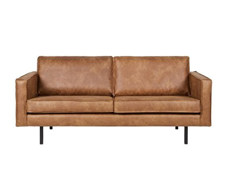 BePureHome Sofa Rodeo 2.5 seat, cognac leather 190x86x85cm