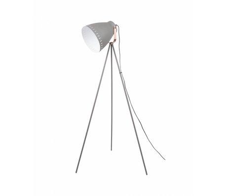 Leitmotiv piantana Mingle metallo grigio Ø26,5 x145cm