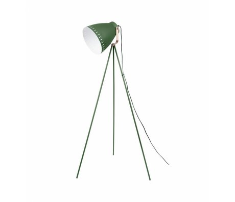 Leitmotiv Lámpara de pie Mingle metal verde 26,5 x145cm