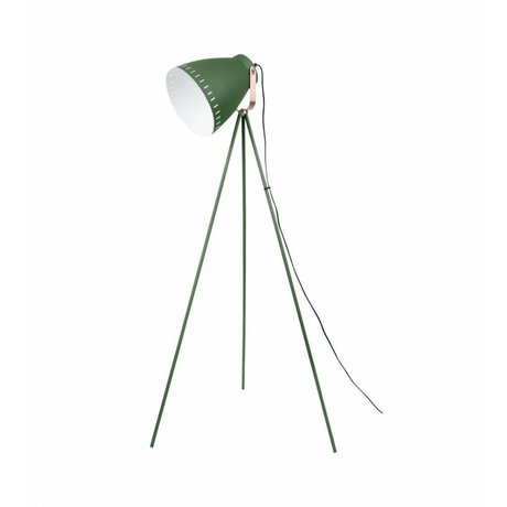 Leitmotiv Floor lamp Mingle green metal 26.5 x145cm