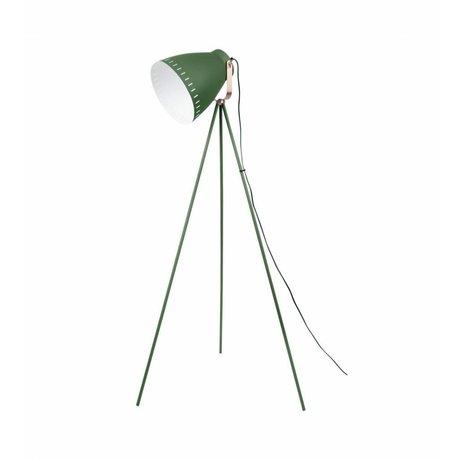 Leitmotiv Lampada da terra Mingle metallo verde 26,5 x145cm