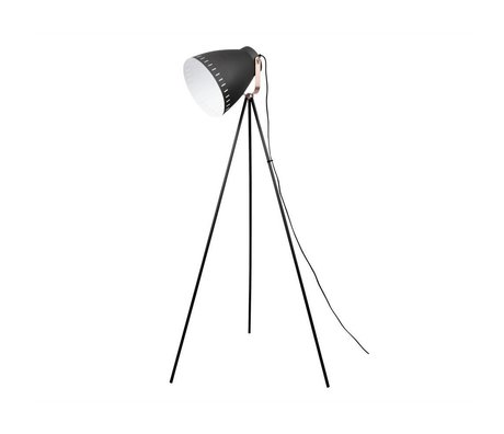 Leitmotiv Floor lamp Mingle black metal 26,5x145cm