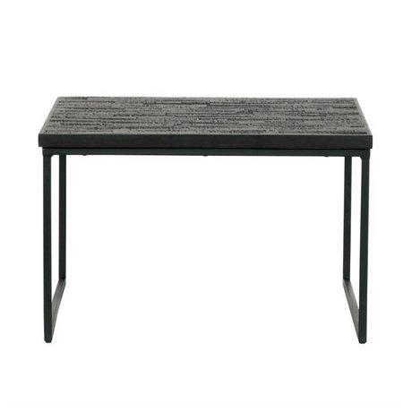 BePureHome Tableau partage Bois 38x60x60cm noir
