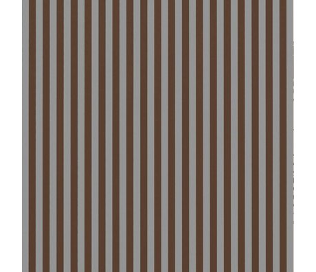 Ferm Living Wallpaper Thin Lines burgundy gray 53x1000cm