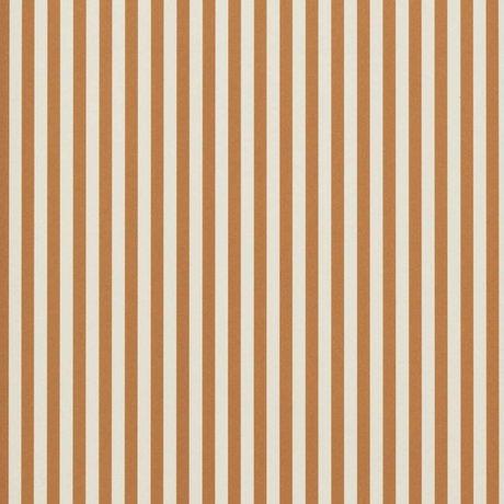 Ferm Living Fondo de pantalla Líneas finas de color ocre amarillo crema blanca 53x1000cm