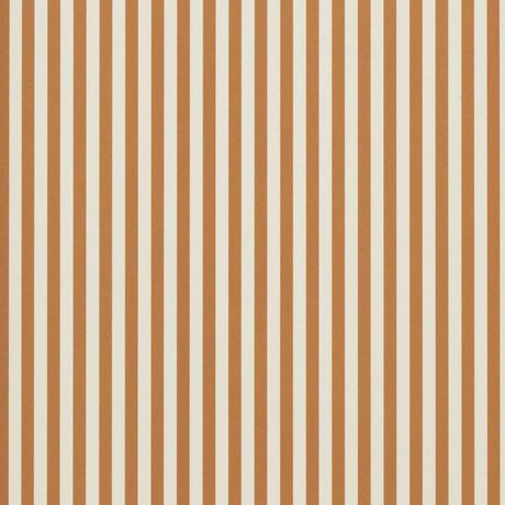 Ferm Living Tapete Thin Lines ockergelb cremeweiß 53x1000cm