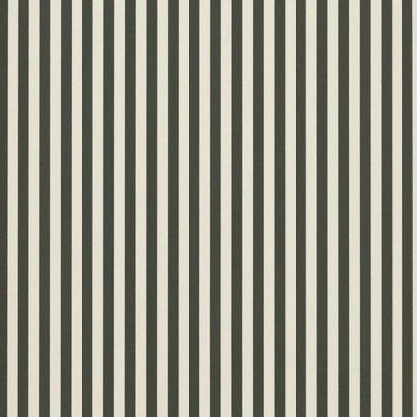 Ferm Living Les lignes fines papier peint crème verte 53x1000cm blanc