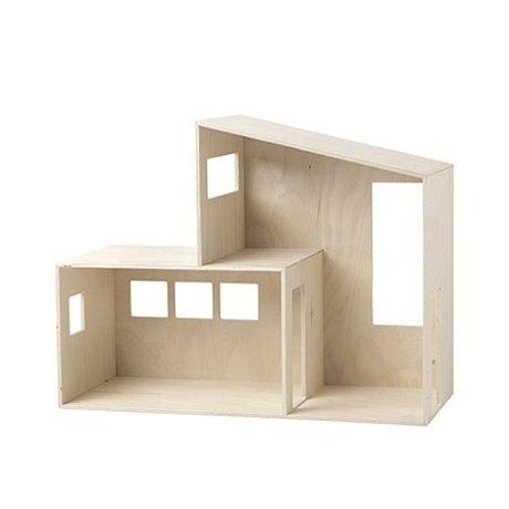 Ferm Living Puppenhaus Funkis small Holz 47.7x36.4x20cm