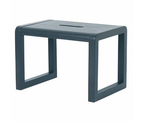 Ferm Living Poco silla Arquitecto oscuro 33x23x23cm madera verde